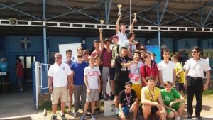 Majstrovstvá okresu v atletike